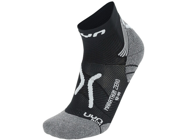 UYN Run Marathon Zero Chaussettes Homme, black/white/grey